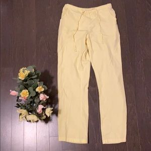 Pants - Pastel Yellow Scrub Pant/Bottom